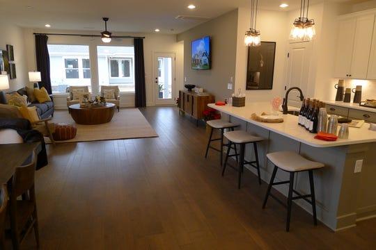 Villas have open floor plans and three to five bedrooms.