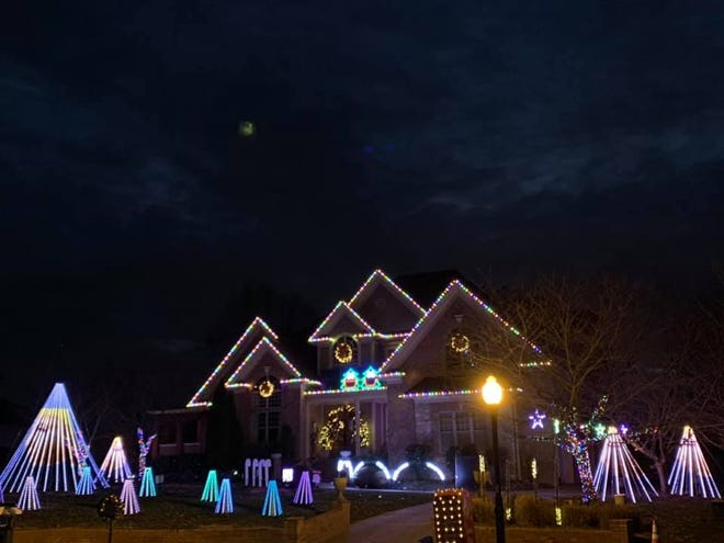 See Christmas lights dancing to music at 1272 Potter Lane in Gallatin.