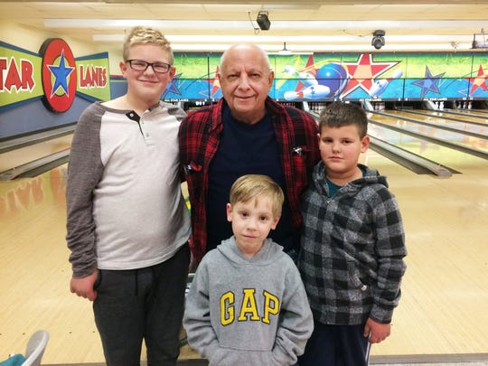 Picture of John Gentile with his grandsons.