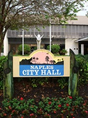 Naples City Hall, 735 Eighth St. S., across from Cambier Park in downtown Naples.