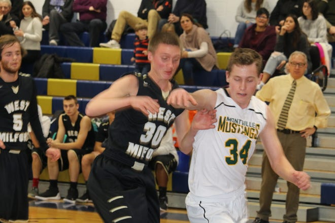 Senior Josiah Basket (30) and the West Milford boys' basketball team tip off the 2018-19 season on Friday night at home against Mahwah.