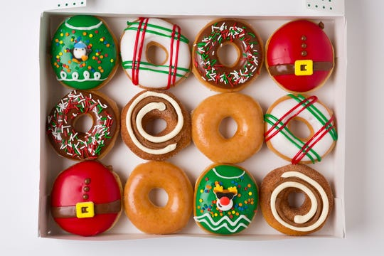 Krispy Kreme has released its festive new donuts.
