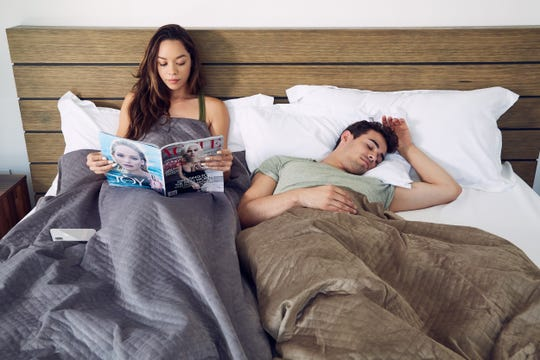 BlanQuil's website state that its blankets are meant to be used individually to maximize its benefits. It is sized for one person, as any bigger would result in much of the weight being wasted on empty parts of the bed.