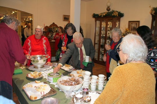 There was quite a spread of food and home-baked treats, along with the traditional tea, punch and coffee at the 2018 Green Tea event held Sunday at the Deming-Luna-Mimbres Museum,.