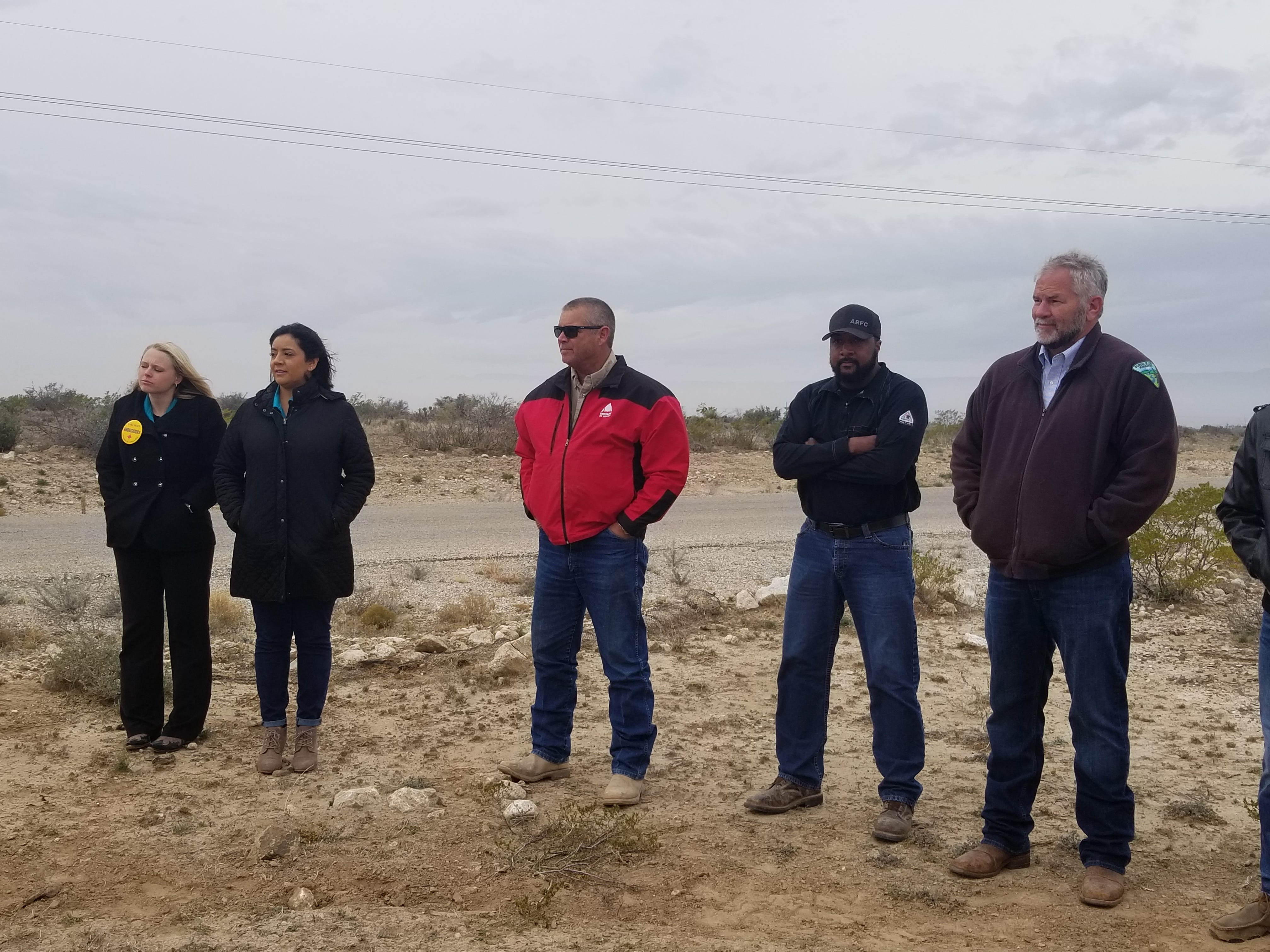 Improvements to the Chosa Campground were made possible through partnerships with local businesses, the Bureau of Land Management and area organizations.