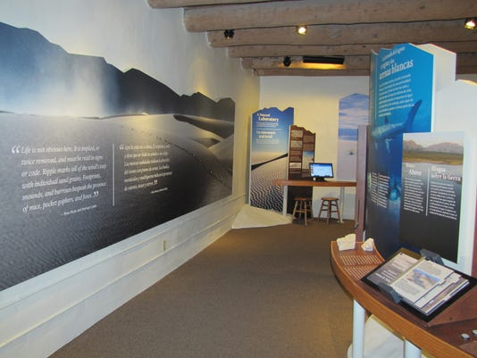White Sands Museum Exhibits