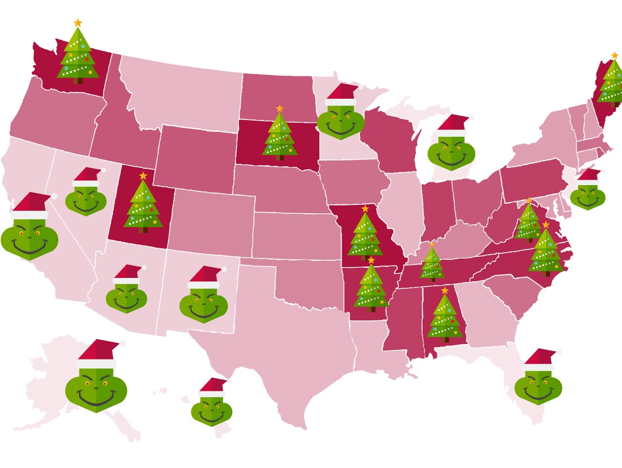 New Mexico leans toward Grinch in Christmas spirit