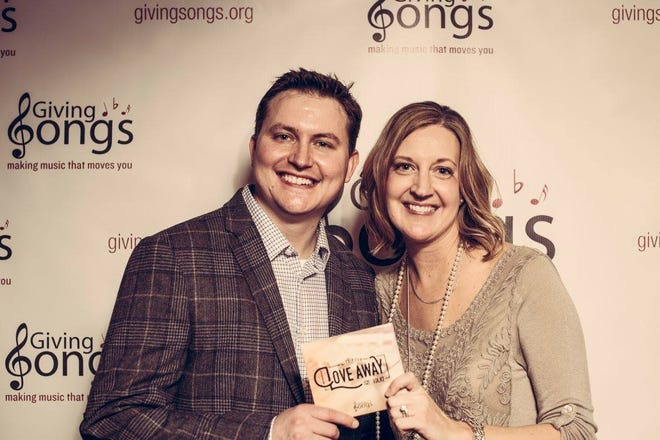 Brent and Jaime Johnson founded Giving Songs.
