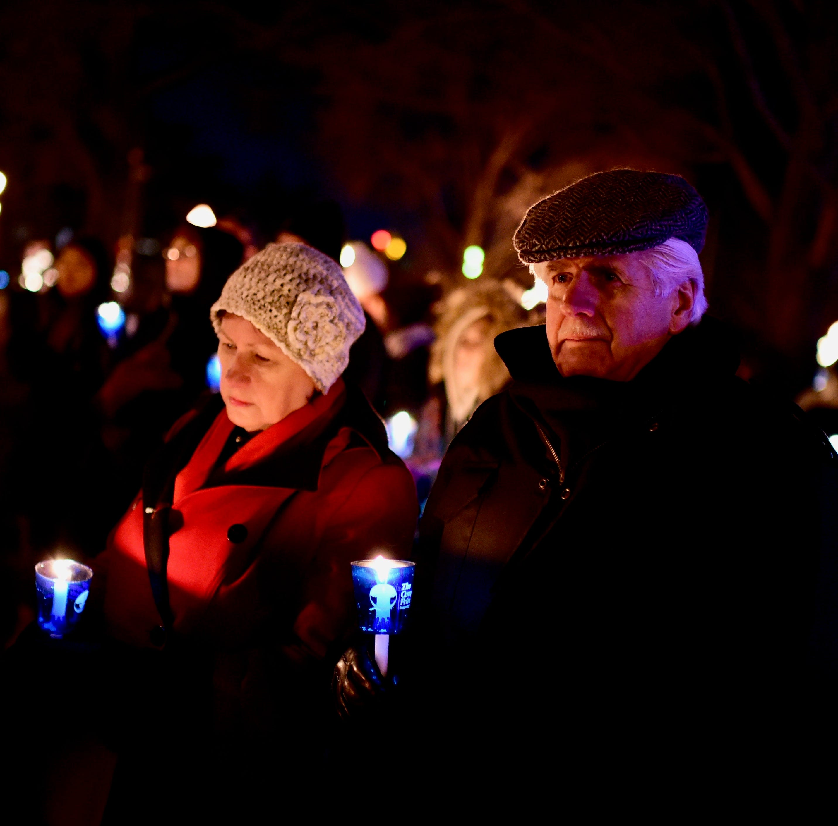 Beacon of light: Vigil honors children lost too soon