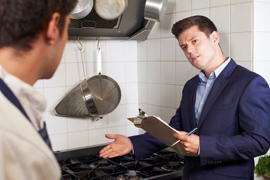 Restaurant inspection stove