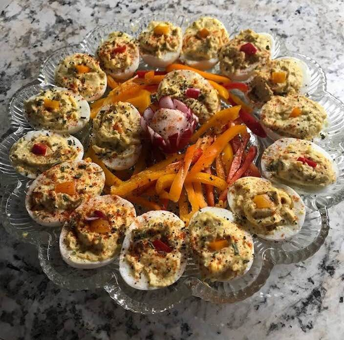Allons Manger: Deviled eggs are a heavenly treat