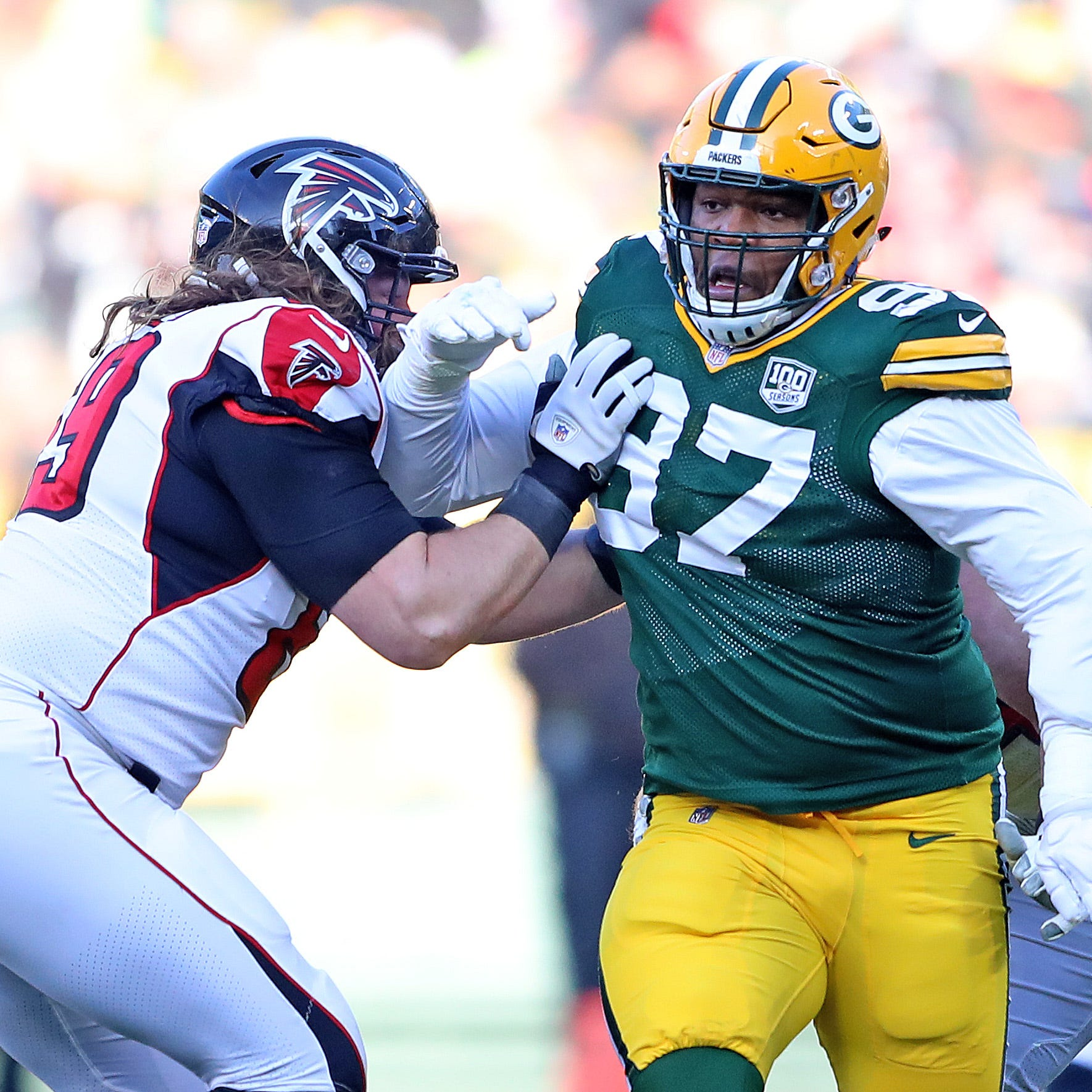 Packers defensive tackle Kenny Clark and right tackle Bryan Bulaga inactive against Bears