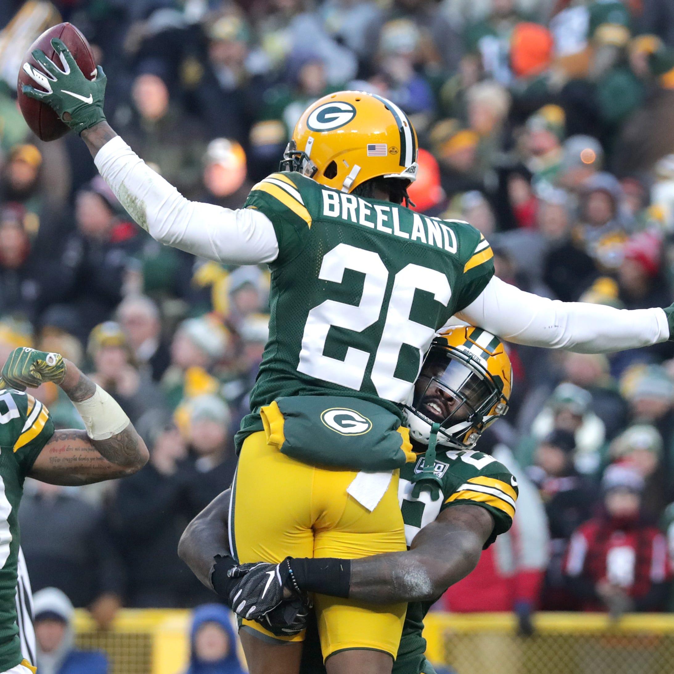 Cornerback Bashaud Breeland hoping Packers take leap of faith on him