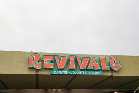 Revivals thrift store in Palm Springs, Calif.