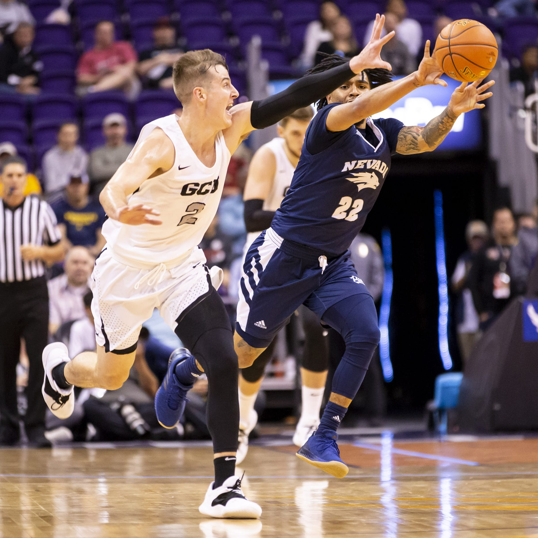 GCU basketball falls to No. 6 Nevada after building early, double-digit lead