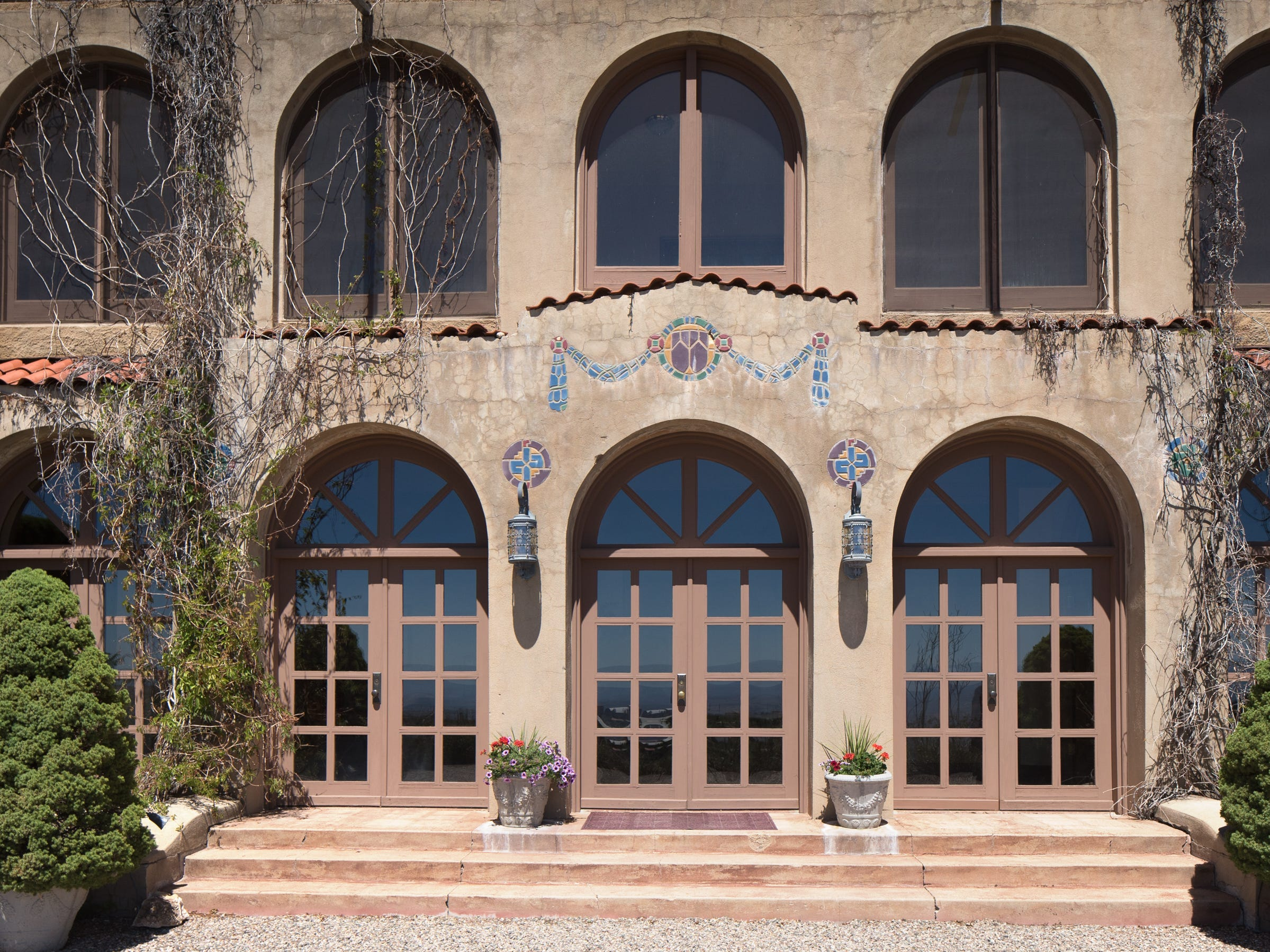 Beautiful tile work is seen at the 100-year-old former Little Daisy Hotel in Jerome, which was later turned into a single-family home and is now on the market.