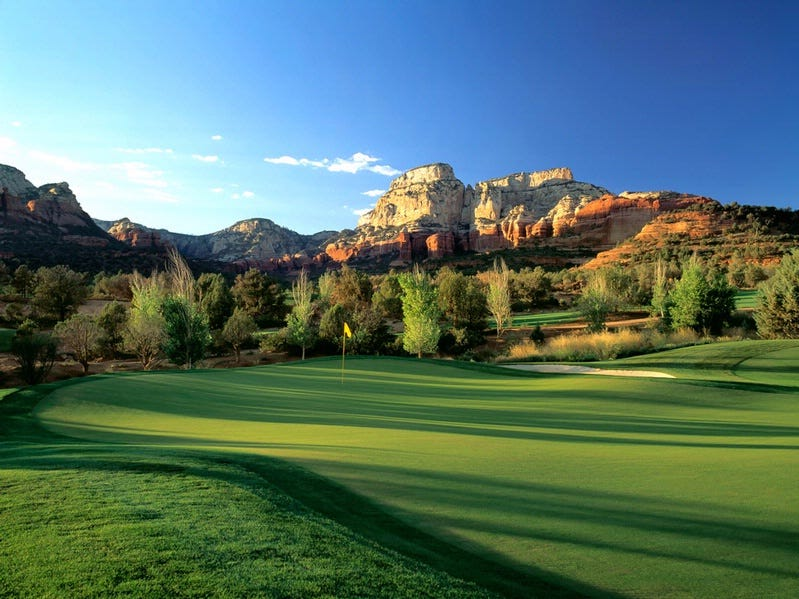 Seven Canyons Members enjoy golf in Sedona nearly year-round.