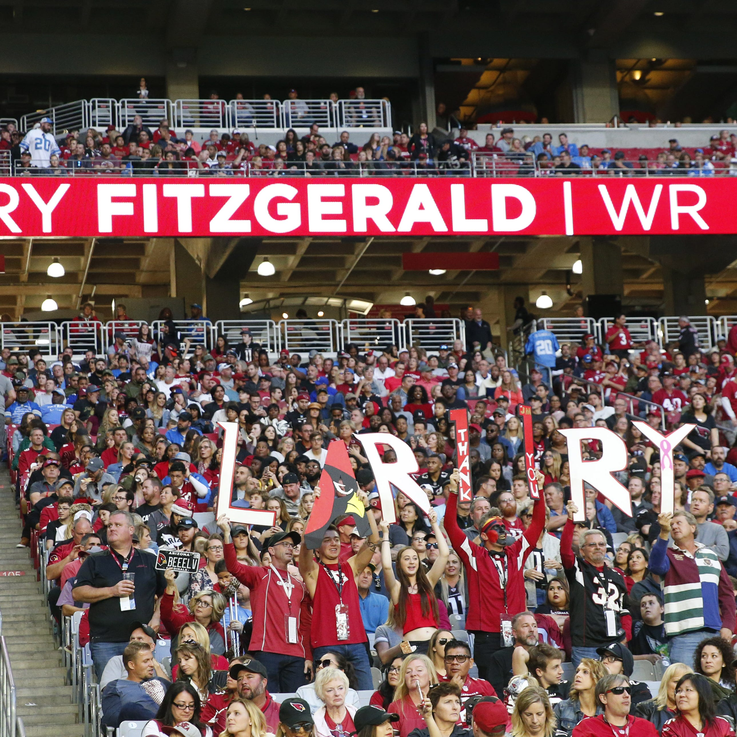 Dear Larry Fitzgerald, don't retire: Arizona sports fans need you