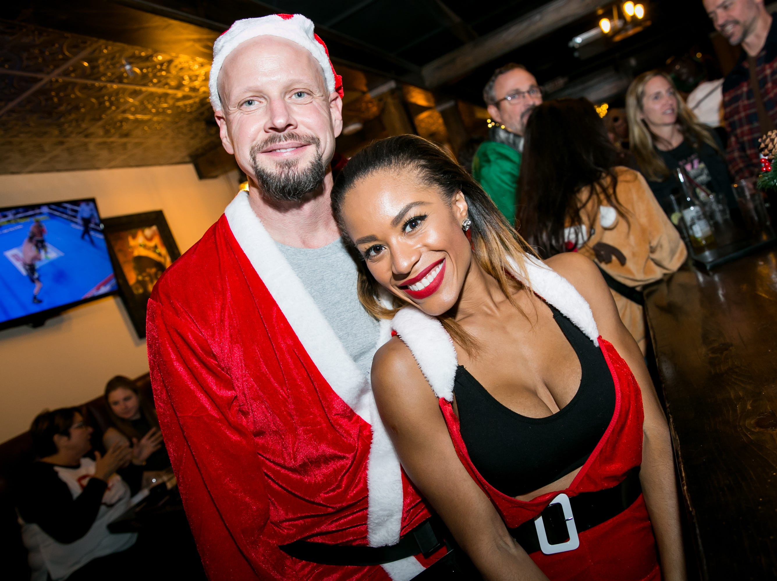Fun times were had at The Kettle Black during Santarchy on Saturday, December 8, 2018.