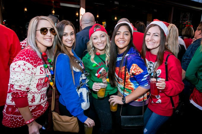 These ladies had a blast during the Scottsdale Santa Crawl at Old Town Gringos on Saturday, December 8, 2018.