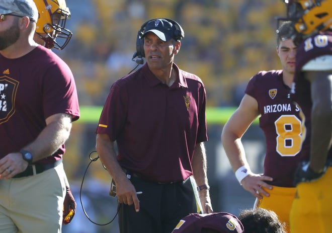 Arizona State has won seven games under coach Herm Edwards and the Sun Devils have a chance to win their eighth game at the Las Vegas Bowl on Dec. 15.