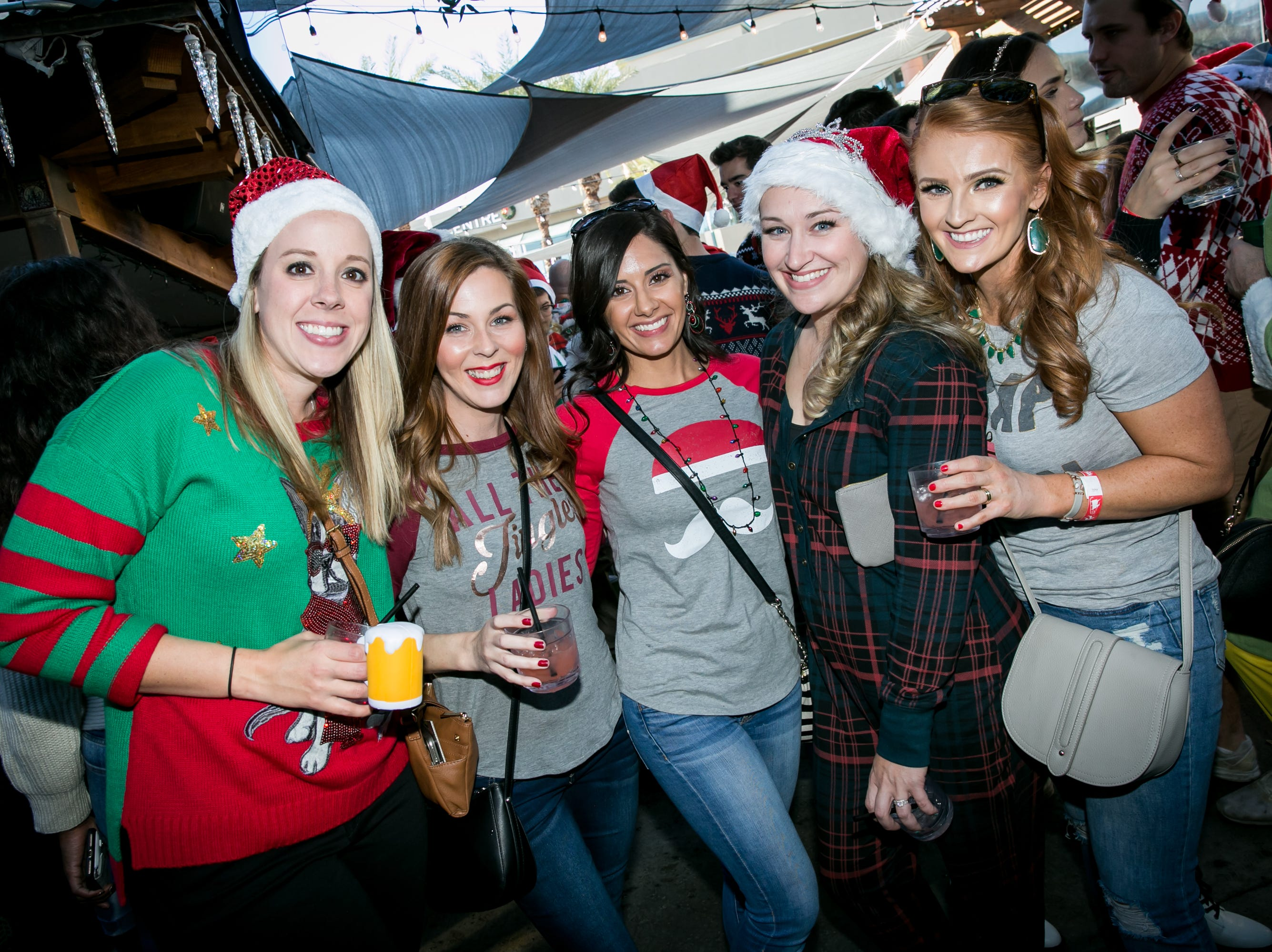 Great times were had during the Scottsdale Santa Crawl at Old Town Gringos on Saturday, December 8, 2018.