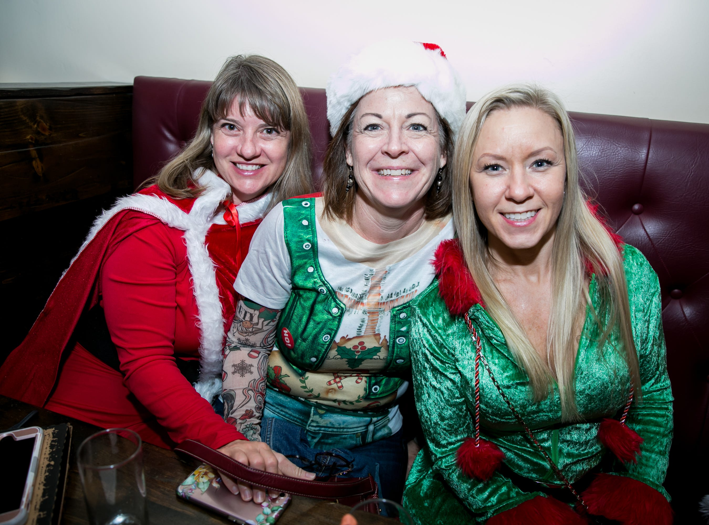 These ladies looked awesome at The Kettle Black during Santarchy on Saturday, December 8, 2018.