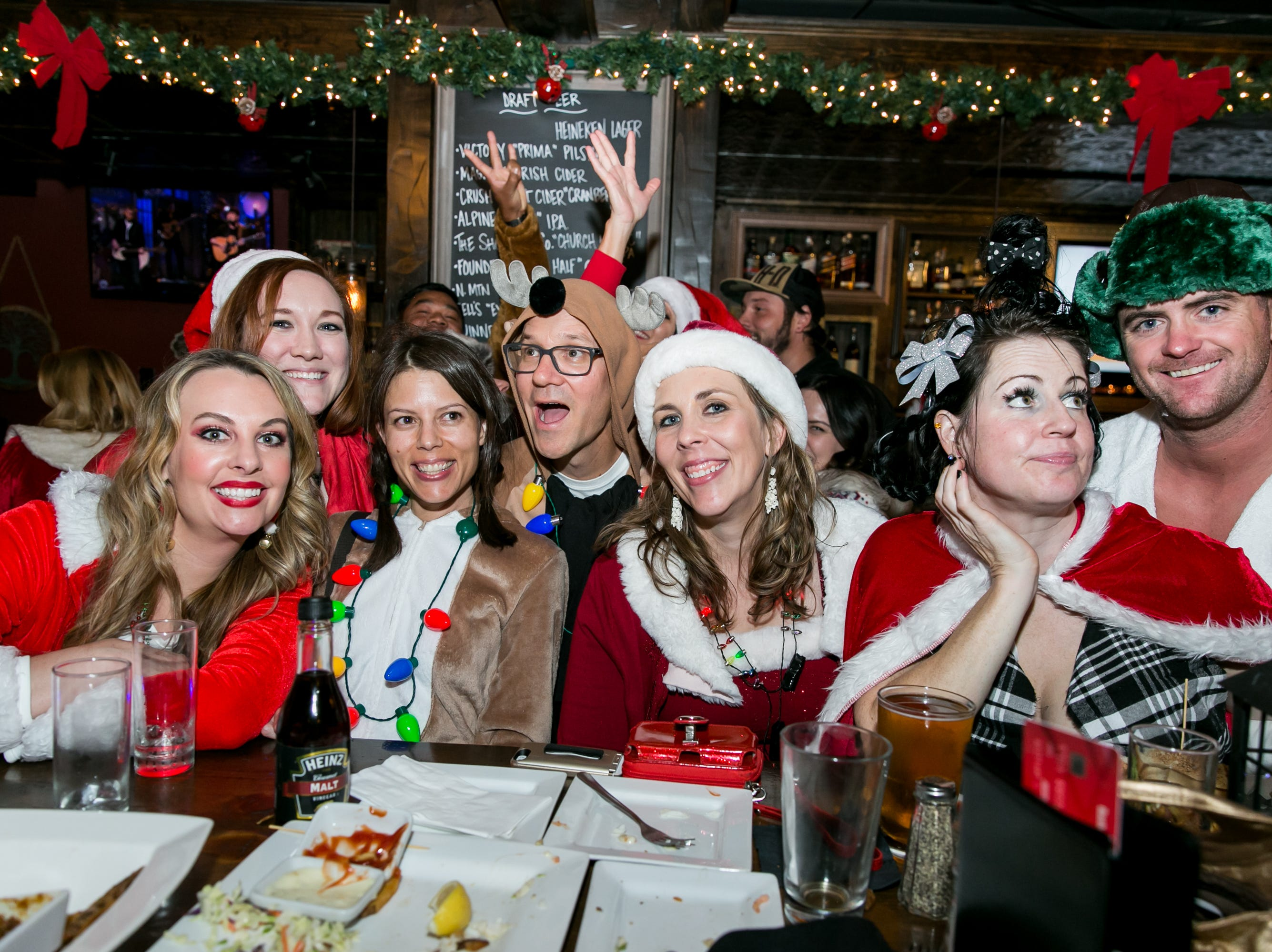 This group looked awesome at The Kettle Black during Santarchy on Saturday, December 8, 2018.