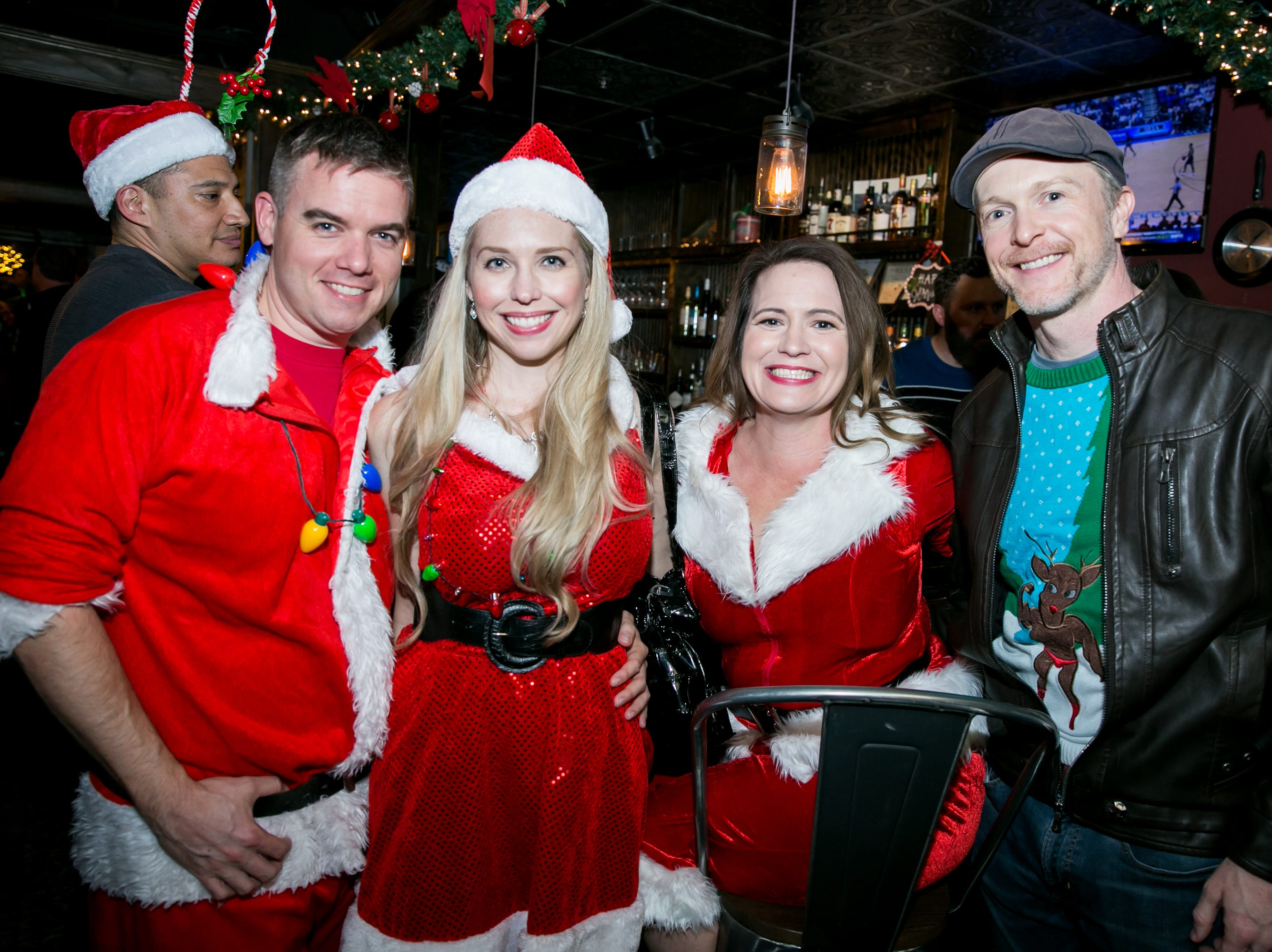 This group had a blast at The Kettle Black during Santarchy on Saturday, December 8, 2018.
