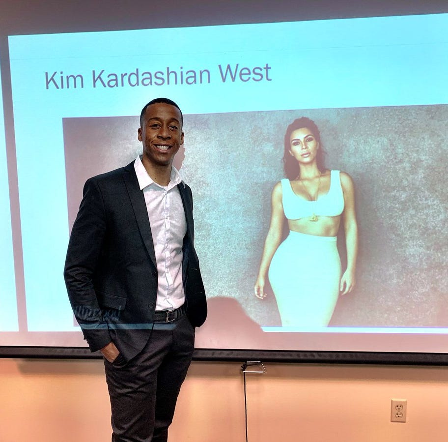 'Can I get a copy?': Kim Kardashian tweets at NAU student who wrote his thesis on her