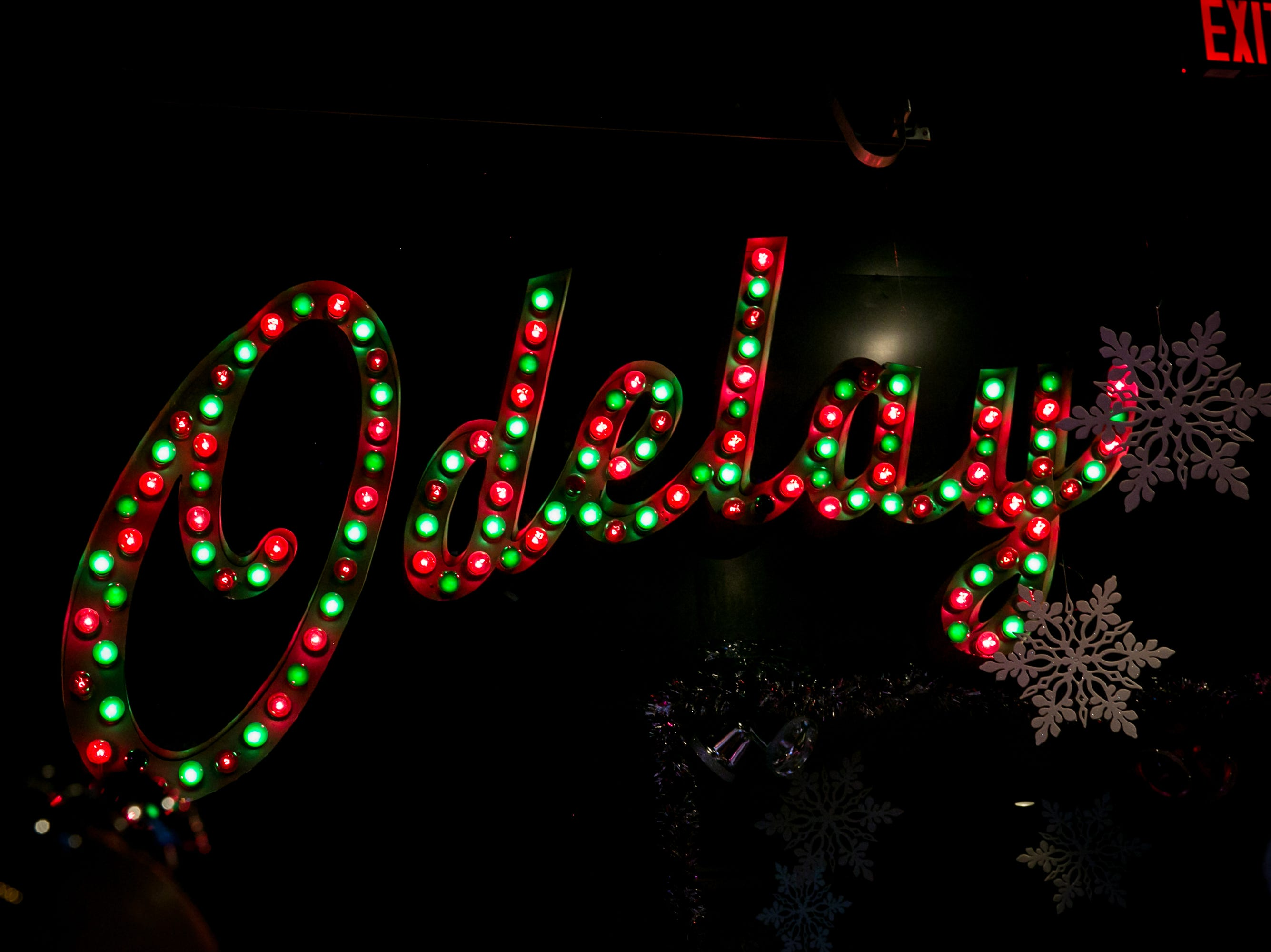El Hefe got festive during the Scottsdale Santa Crawl on Saturday, December 8, 2018.