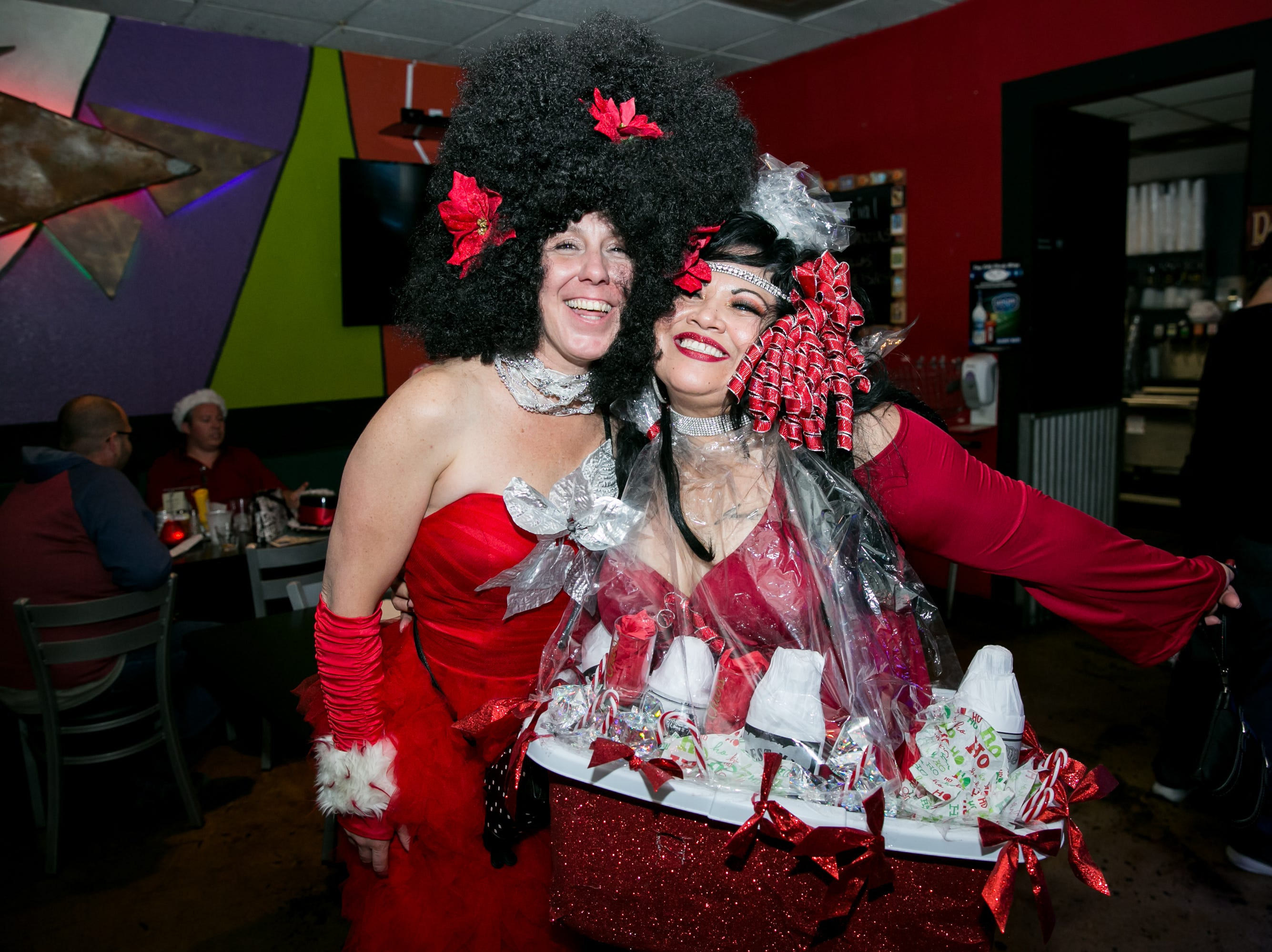These two looked fantastic at Steve's Greenhouse Grill during Santarchy on Saturday, December 8, 2018.