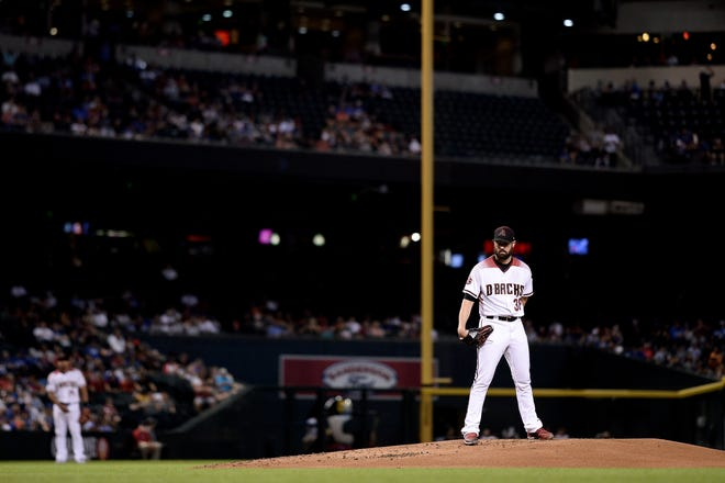 Robbie Ray figures to be the Diamondbacks player whose name surfaces most often in trade rumors this week.