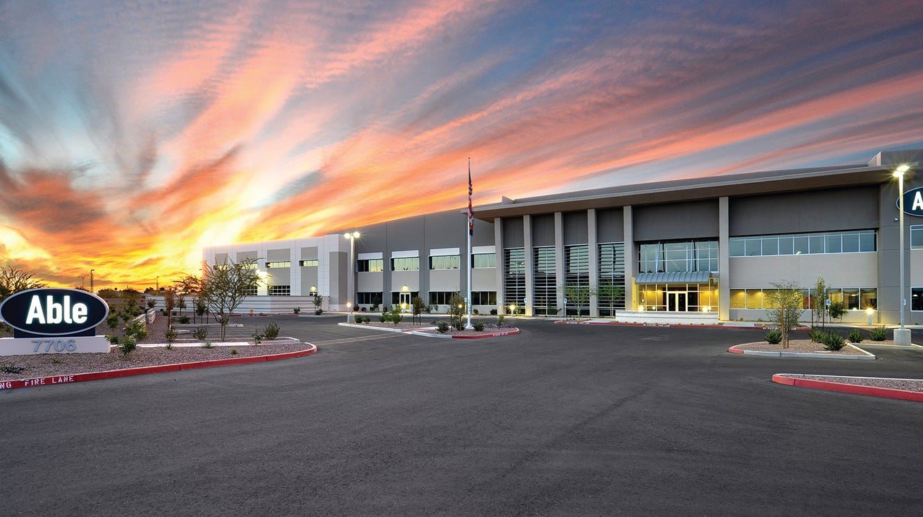 Able Aerospace to add 100 jobs with Phoenix-Mesa Gateway Airport expansion