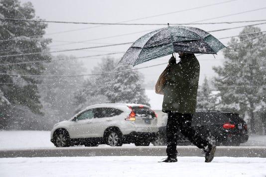 Winter Storm Brings Rare Snowfall To North Carolina