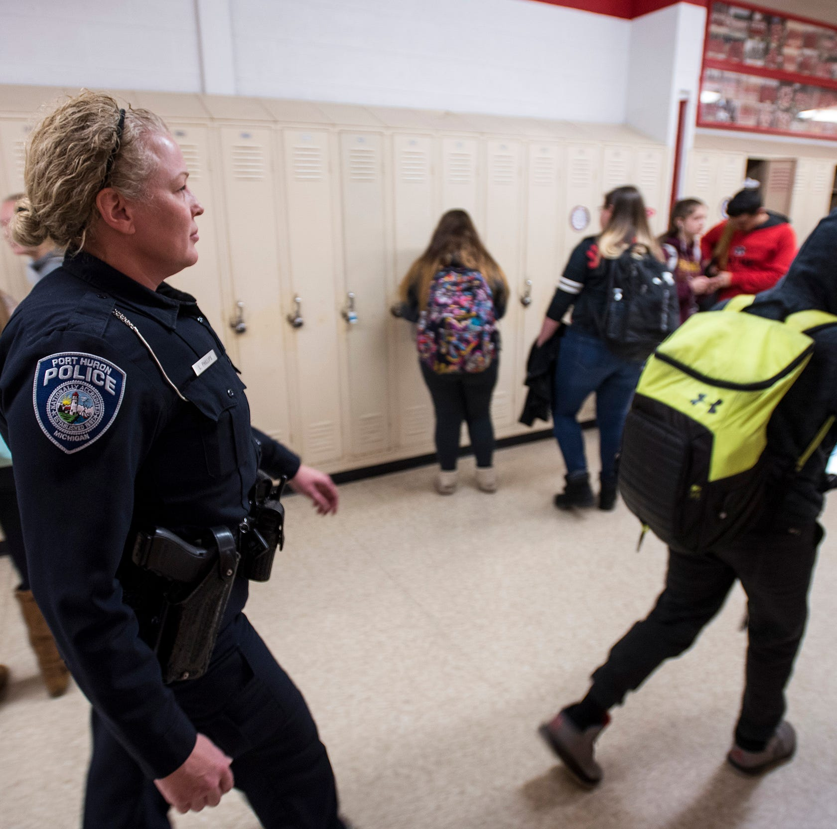Bill could make federal funds available for school resource officers