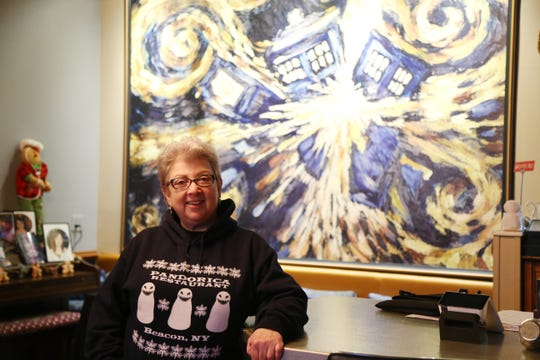 Owner Shirley Hot at The Pandorica Restaurant in Beacon on December 5, 2018.