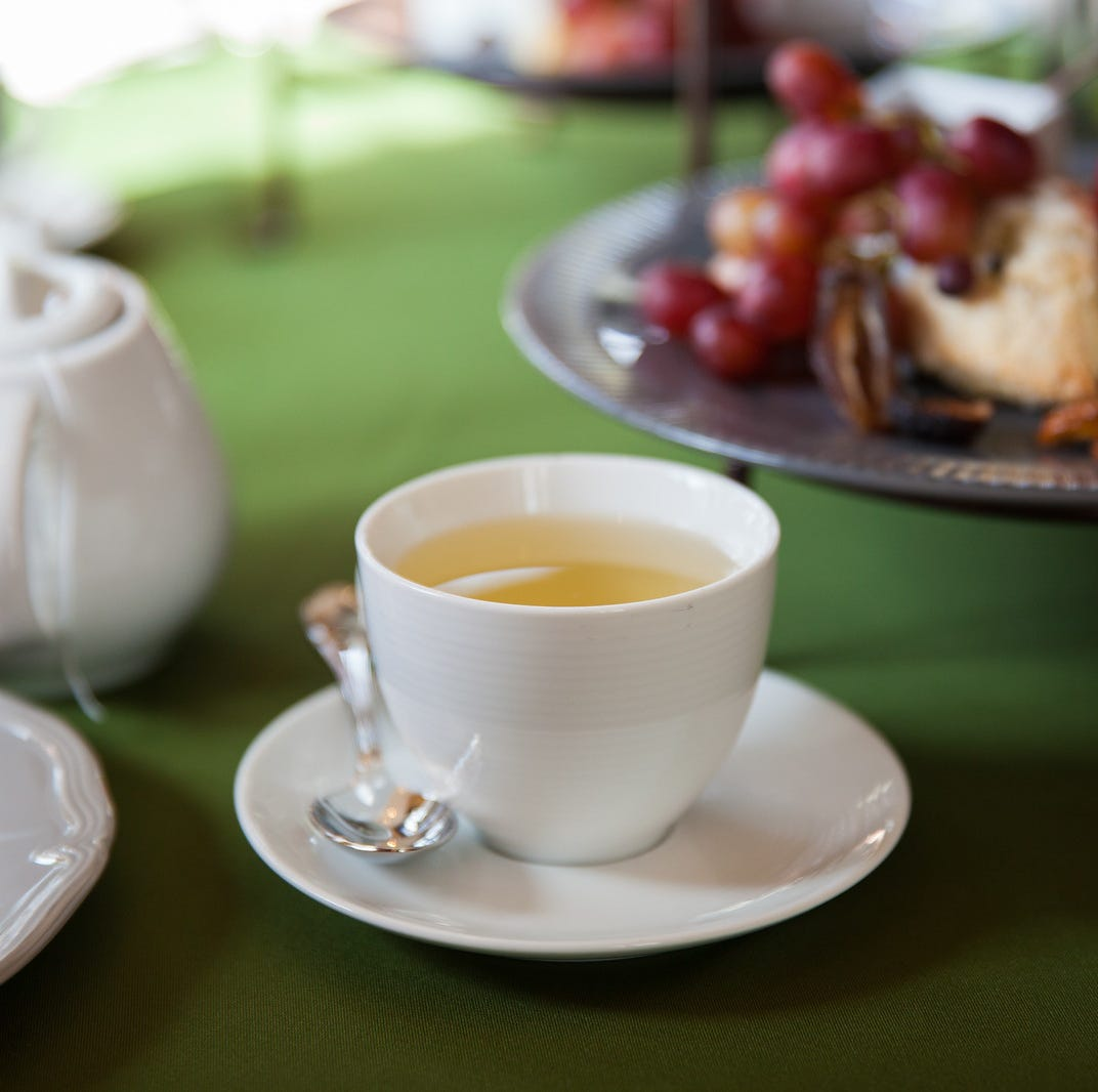 Afternoon tea at Wave Hill.