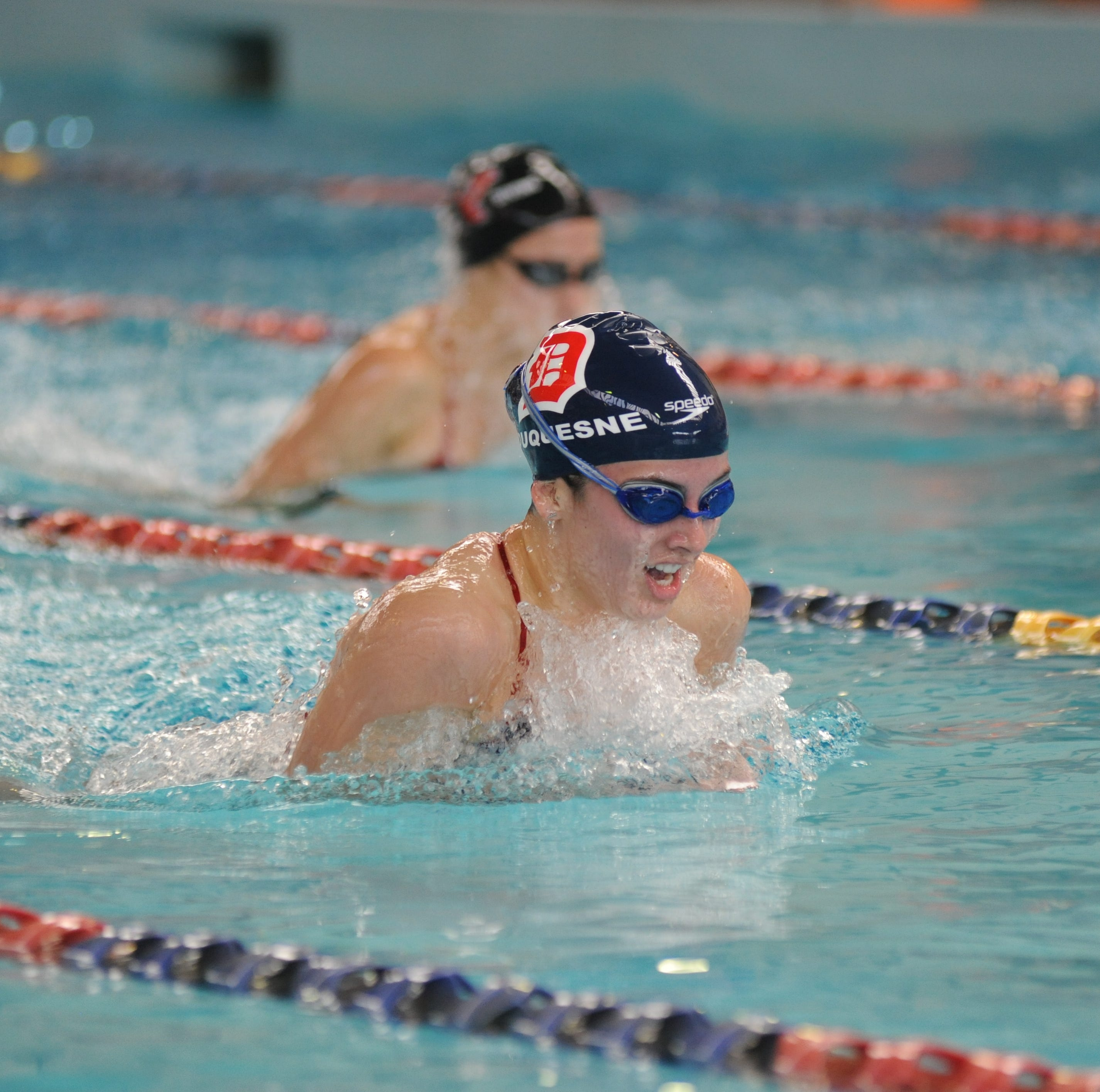 Chambersburg's Stauffer continues strong swim career at Duquesne