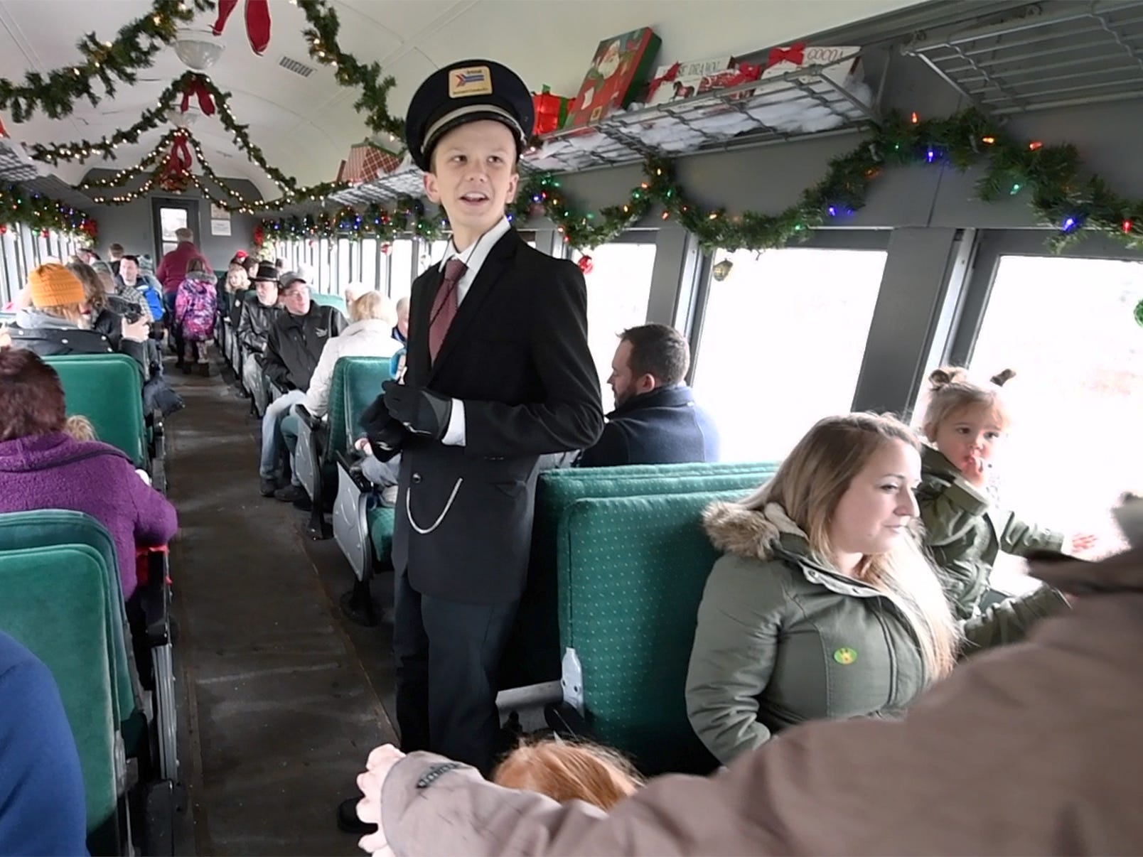 These kids trade virtual world for a chance to experience railroad history in Stewartstown