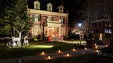 More than 1,700 luminaries lined the historic Springdale neighborhood in York.