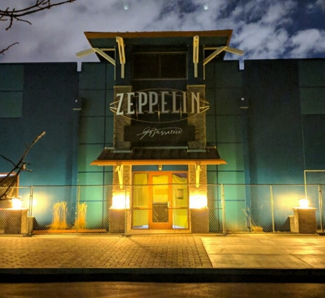 The Zeppelin restaurant debuted the third week of December 2018 as the first business to open at the Loop, a dining, entertainment and sports complex in South Reno.