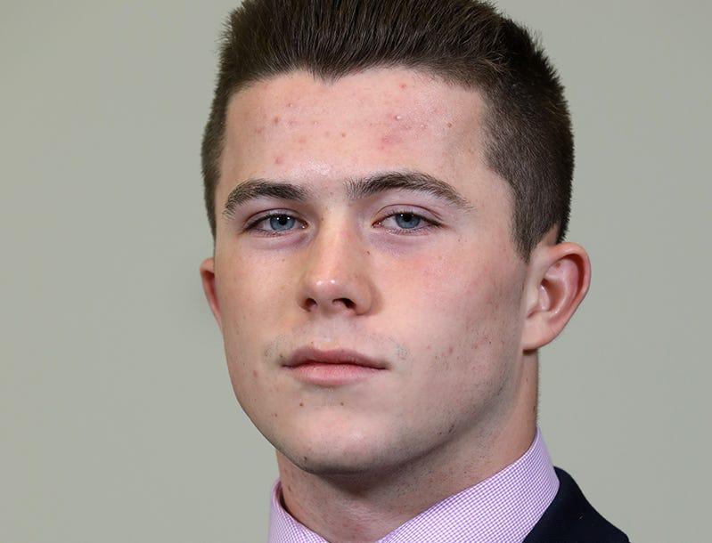 Hunter Walsh of McQuaid
