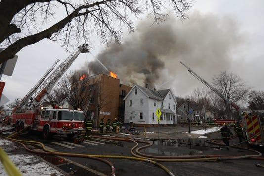 Thurston Rd Fire A