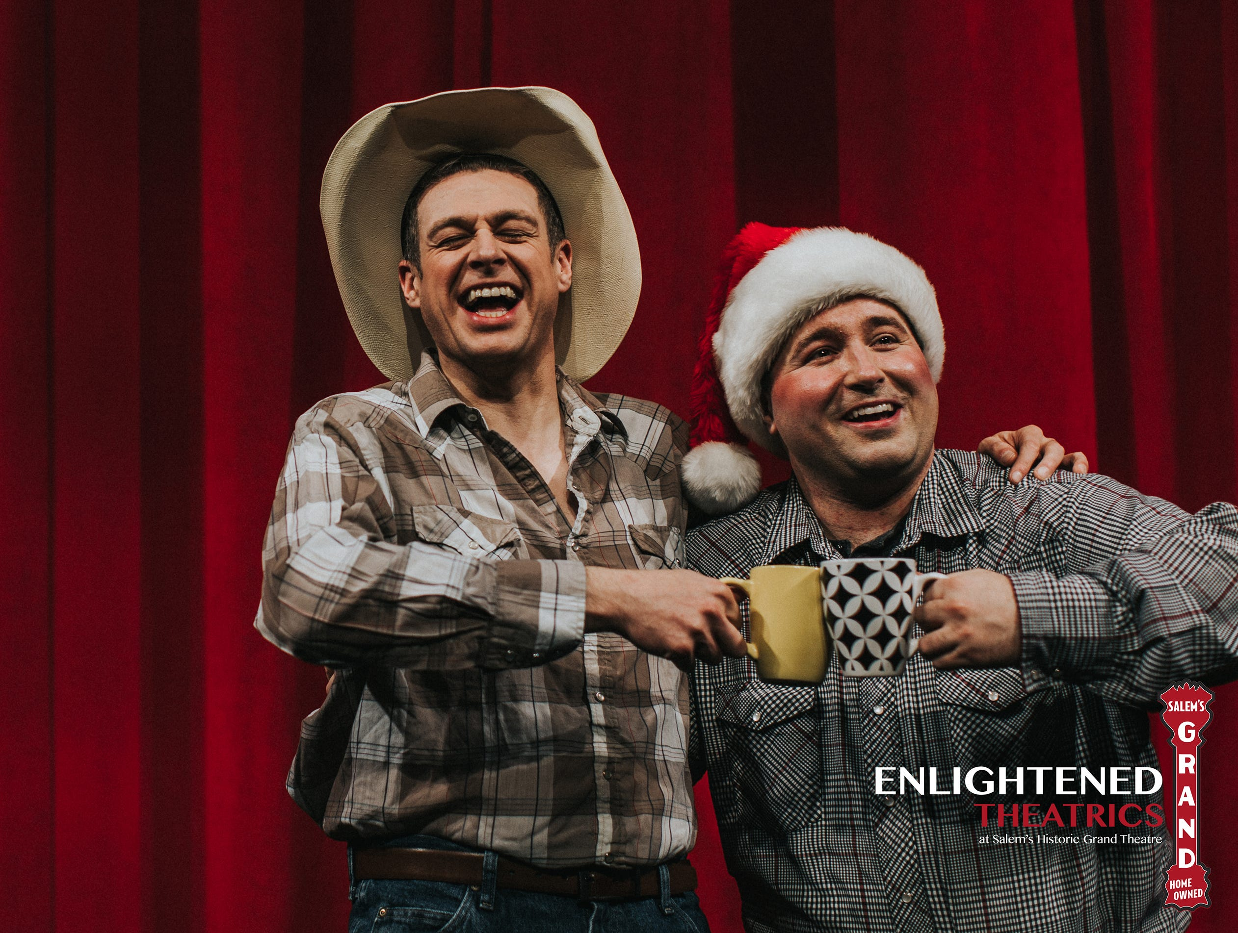 """A Tuna Christmas"": Two actors will play 11 characters each in the sequel to ""Greater Tuna,"" that takes place in the third smallest town in Texas, preview night at 7:30 p.m. Thursday, Dec. 13, with opening night at 7:30 p.m. Friday, Dec. 14, show runs every Wednesday to Sunday through Dec. 30, closed on Dec. 26, Enlightened Theatrics, 187 High St. NE Suite 300. $28 for adults, $23 for students, $10 preview performances. Tickets are available an hour before showtimes or at Enlightened Theatrics' Office Wednesday to Friday from noon to 6 p.m. www.EnlightenedTheatrics.org or 503-585-3427 for more info."