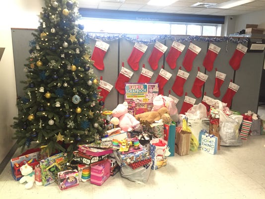 Chincoteague Police Department Christmas toy drive