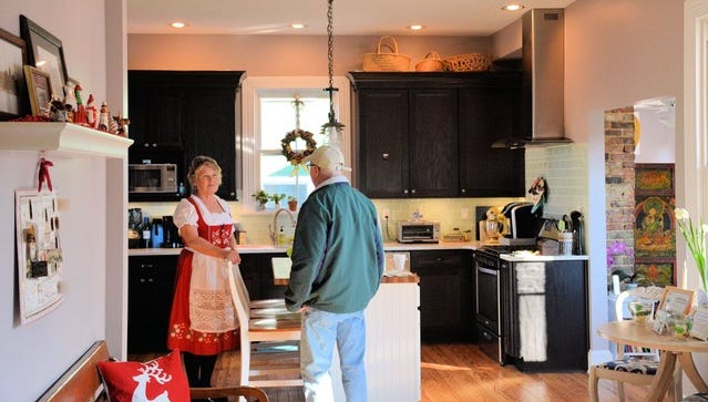Kathy Glaser, owner of Alyssa House Bed And Breakfast, is part of the 2018 Town of Cape Charles and the Cape Charles Bed and Breakfast Association's Historic Cape CharlesCookie Trail.