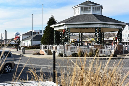 The Rehoboth Beach Bandstand in December 2018.