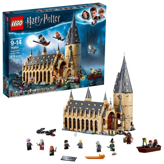 Lego: Harry Potter Hogwarts Great Hall or Hogwarts Express Train building sets