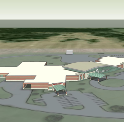 A rendering of the planned Cox Hospital in Monett.